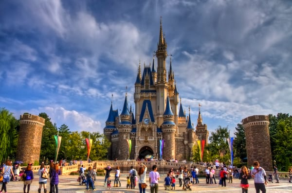 most visited theme parks