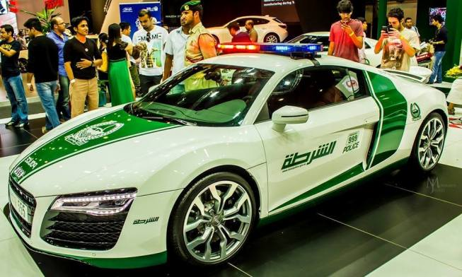 Most Expensive Dubai Police supercars 2015