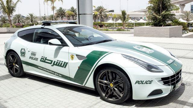 Most Expensive Dubai Police supercars