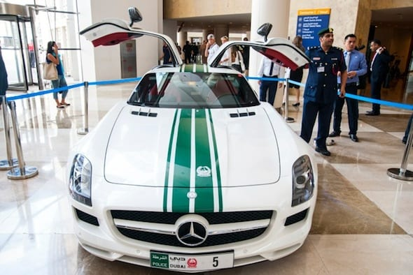 Most Expensive Dubai Police Cars