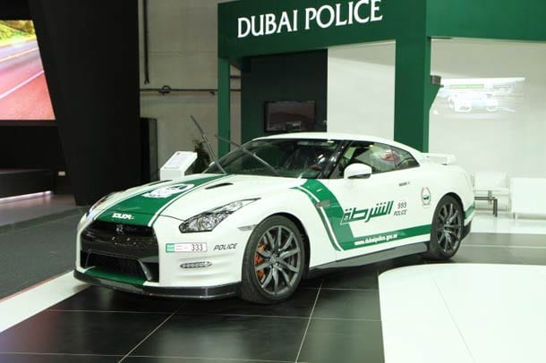 Most Expensive Dubai Police Cars 2015