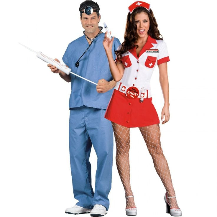 Doctor and nurse couples Halloween Costume