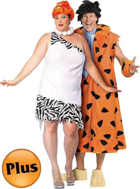 Fred Flintstone plus size Halloween costume