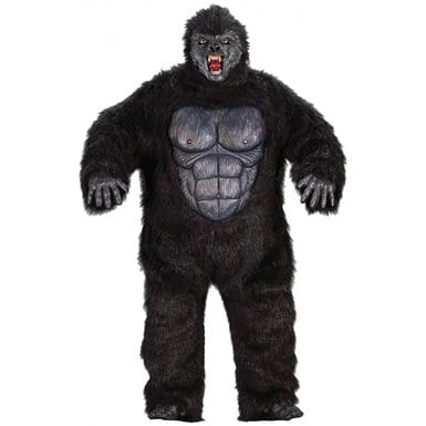 Plus size Gorilla Halloween costume