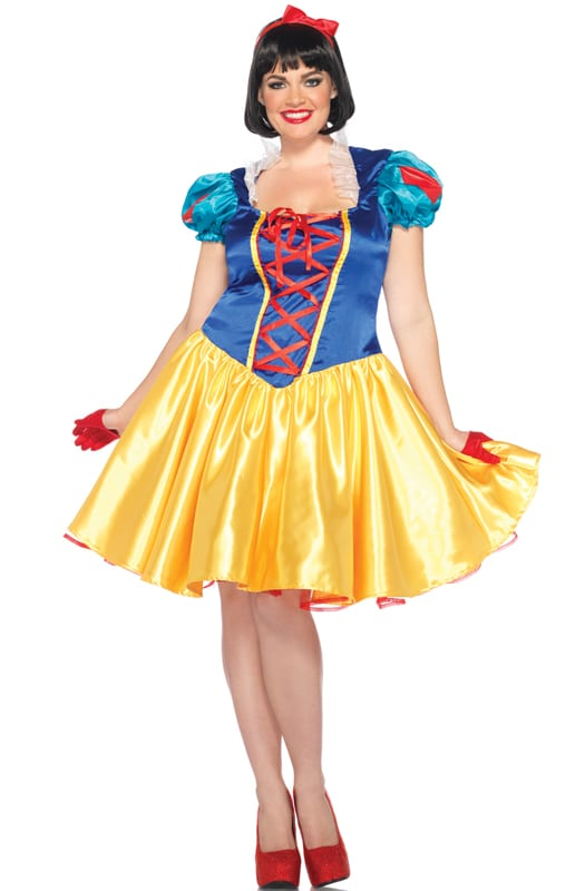 Snow white plus size Halloween costume