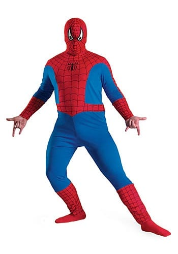 Spiderman plus size Halloween costume