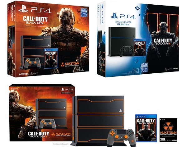 Call of Duty- Black Ops 3 Limited Edition PlayStation 4 Bundle