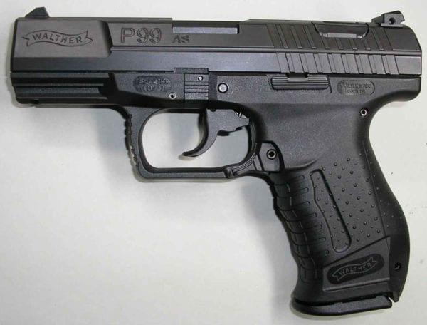 Best 9mm Pistols 2016 - Walther P99 AS