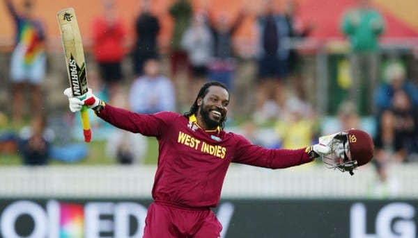 Richest Cricketers In 2016 - 3. Chris Gayle