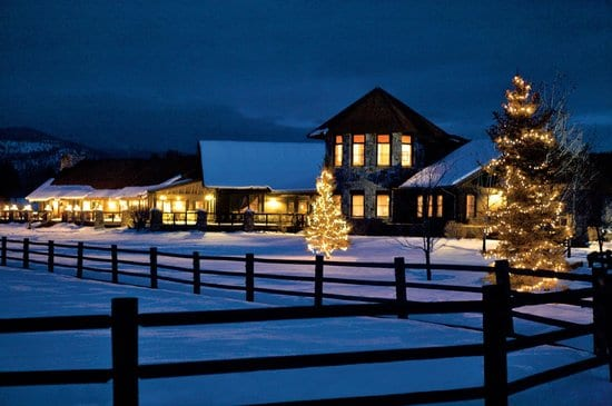 The Resort at Paws up In Greenough, Montana