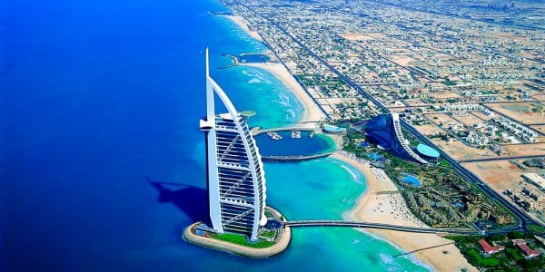 Most Beautiful Hotels 2016 - Burj Al Arab Hotel, Dubai