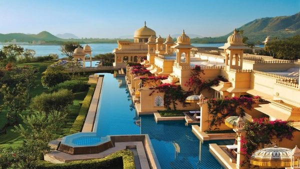 Most Beautiful Hotels 2016 - The Oberoi Udaivilas, India