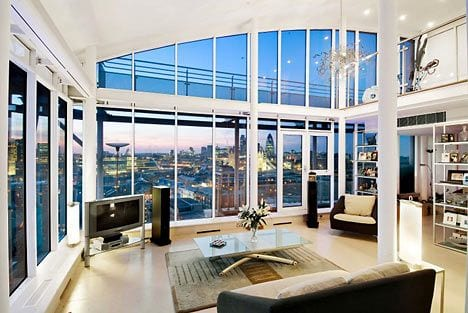 Most Expensive & Luxurious Houses - The Penthouse in London