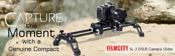 Best Camera Sliders 2016 - Filmcity SL-2 Camera Slider