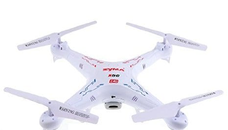 Syma X5C explorers 2.4 G 4CH 6 axis gyro quad copter with HD camera