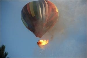 Top Ten Horrific Hot Air Balloon Accidents