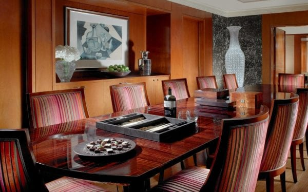 Top ten most expensive hotels in the world for Hotel president wilson royal suite
